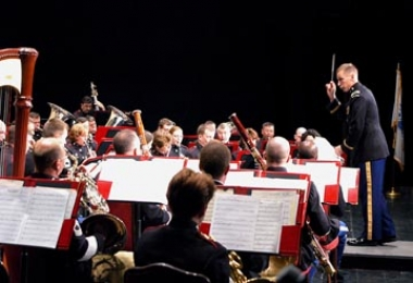West Point concert band performs in Oxford Thursday