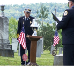 Ceremony honors past firefighters