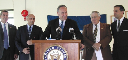 U.S. Senator Schumer gives NYSDOT an F for not fixing Route 12