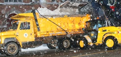 Snowplow drivers get welcomed day off