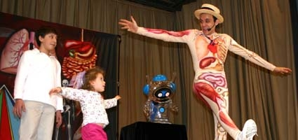 Slim Goodbody visits Holy Family