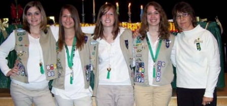 Oxford Holds 'Heart Of Girl Scouting' Award Ceremony