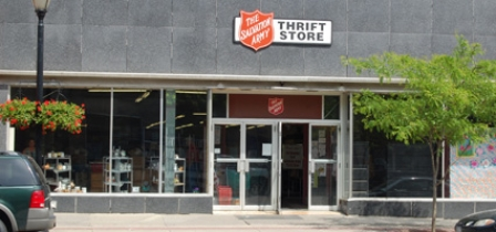 Thrift shops expect increase due to closing of Salvation Army