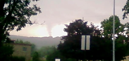 Another rough storm ... funnel cloud spotted