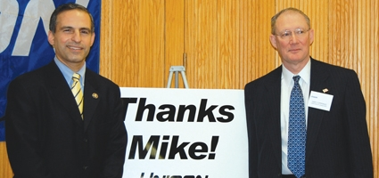 "Unison Says, ""Thanks, Mike!"""