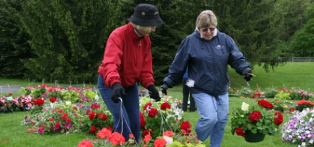 Hospice gears up for spring plant sale