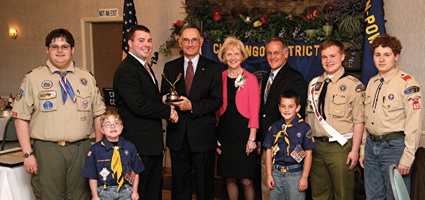 Forsythe named Distinguished Citizen of the Year