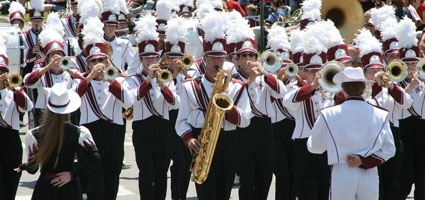 Who's competing at this year's Sherburne Pageant of Bands?