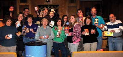 Food drive nets over  a ton for local pantries