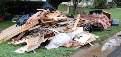 Communities Pull Together As Clean Up Begins In Wake Of Floods