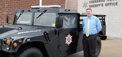 Sheriff's Office now sporting two military-grade Humvees