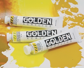 For artists interested in going beyond the ordinary, Golden introduces Provocative Yellows