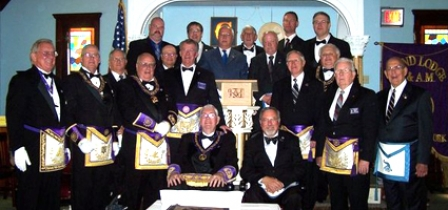 Oxford Lodge Celebrates 150th Anniversary With Rededication