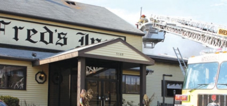 Repairs, Clean-up Underway At  Fred's Inn; Owners Hope To Re-open In Six To Nine Months