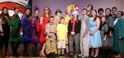 "Oxford stages ""Seussical"" this weekend"