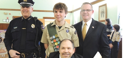 New Eagle Scout Recognized