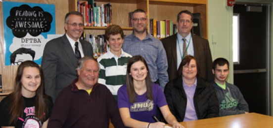 Greene's Klecha Signs With James Madison
