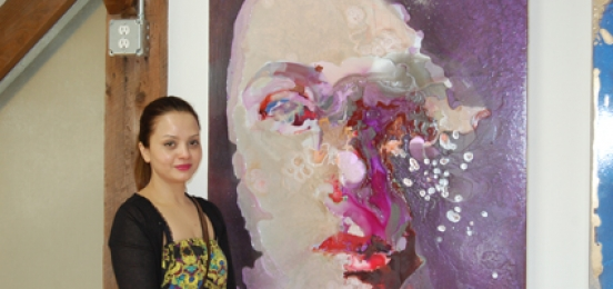 Artists present work at Golden Foundation studios