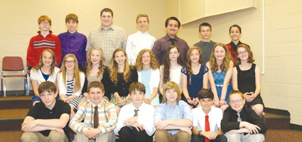 Junior Honor Society Induction