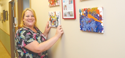 Community donates The Place kids' paintings