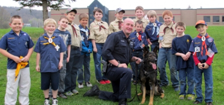 Cub Scouts encourages learning, family bonding