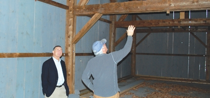 Hanna Throws Support Behind CCHS  Barn Project