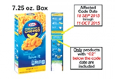 Contaminated Kraft Dinner Found In Local Stores