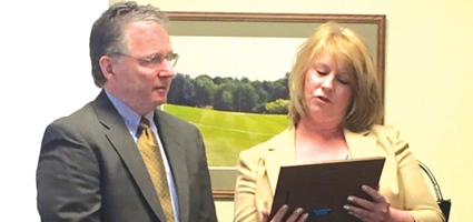 DA Joseph McBride honored for dedication and compassion to Chenango County crime victims