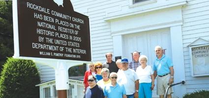 New sign recognizes Rockdale Church on National Historic Register