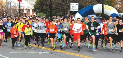 Trotting along for the 34th Annual Turkey Trot