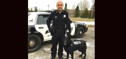 Norwich K9 receives donated body armor