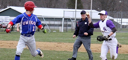 Third Inning Spells Doom For Norwich Baseball