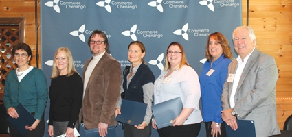 Commerce Chenango recognizes businesses with 100+ years in the community