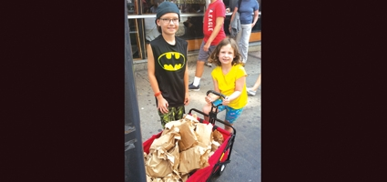 Norwich children show compassion in NYC