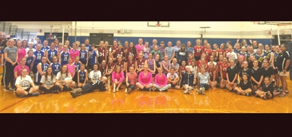 B-G hosts first ever Knudsen Modified Volleyball Tournament for Breast Cancer awareness