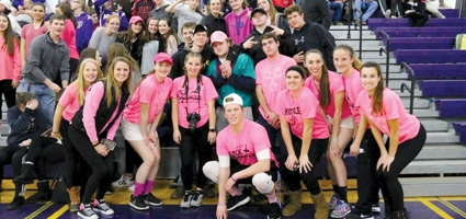 Cancer awareness night for NHS basketball