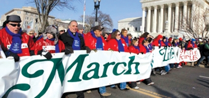 Knights of Columbus orchestrate 'March For Life' bus trip