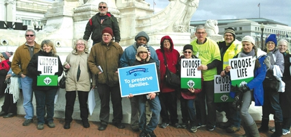 Local Knights of Columbus members recount March for Life