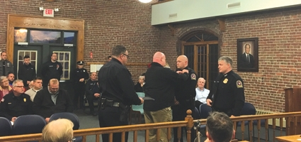Two new sergeants for the Norwich Police Department