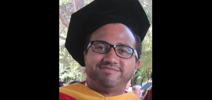 Oxford grad earns PhD at Stanford