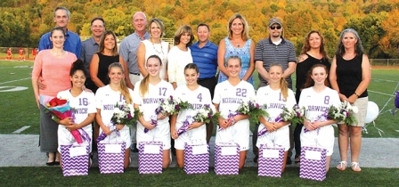 Lady Warriors Take Down Norwich On Senior Night, 4-1