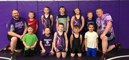 Norwich Pee-Wee Wrestlers participate in first tournament of the year