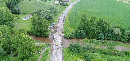 State Highway Route 12 Closed For Bridge Construction