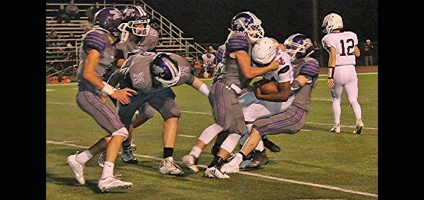 Purple Tornado claims Homecoming night win against Johnson City