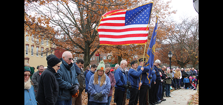 Citizens attends Veterans Day Parade in Norwich