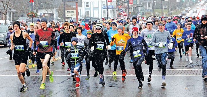 37th annual YMCA Turkey Trot takes to the streets of Norwich
