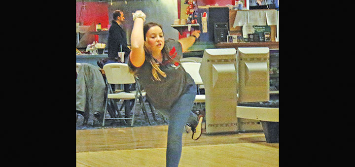 Lady Bobcats steal win from Blackhawks at the lanes on the road; Marauders boys and girls stay undefeated