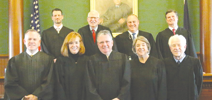 Justice for all: Current and past judges attend swearing-in