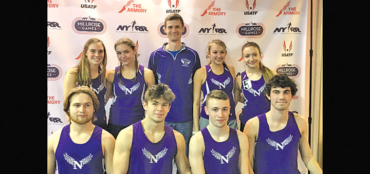 Norwich 4x200 relay teams break boys and girls records at Stanner Games