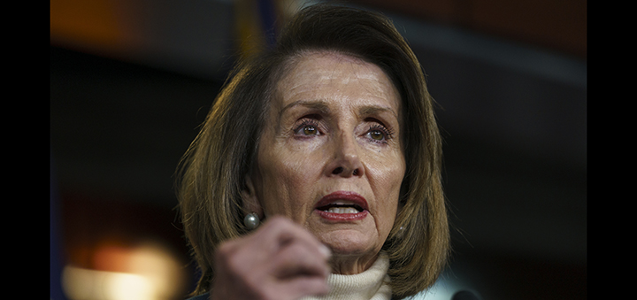 Trump grounds military escort for Pelosi's overseas trip